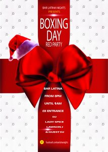 xmas-box-party-flyer